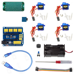 Otto DIY maker E - Eyes kit - without Arduino - Buy - Pakronics®- STEM Educational kit supplier Australia- coding - robotics