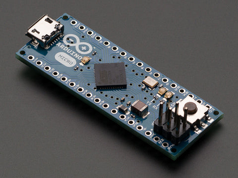 Arduino Micro without Headers - 5V 16MHz ATmega32u4 - Assembled - Buy - Pakronics®- STEM Educational kit supplier Australia- coding - robotics