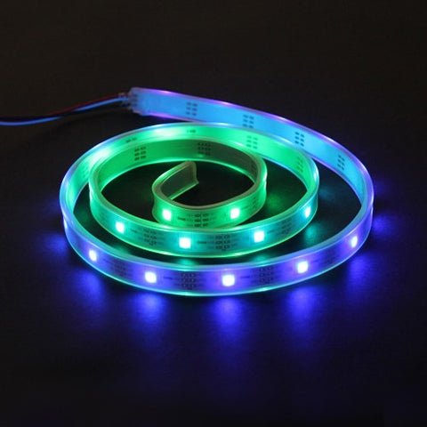 LED RGB Strip-Addressable, Sealed(1M) - Buy - Pakronics®- STEM Educational kit supplier Australia- coding - robotics