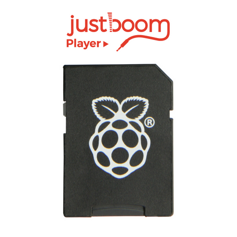 JustBoom Player OS SD Card