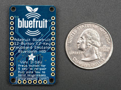 Buy Australia Bluefruit EZ-Key - 12 Input Bluetooth HID Keyboard Controller , ADA_Bluetooth - Adafruit, Pakronics Melbourne  in Australia - 2