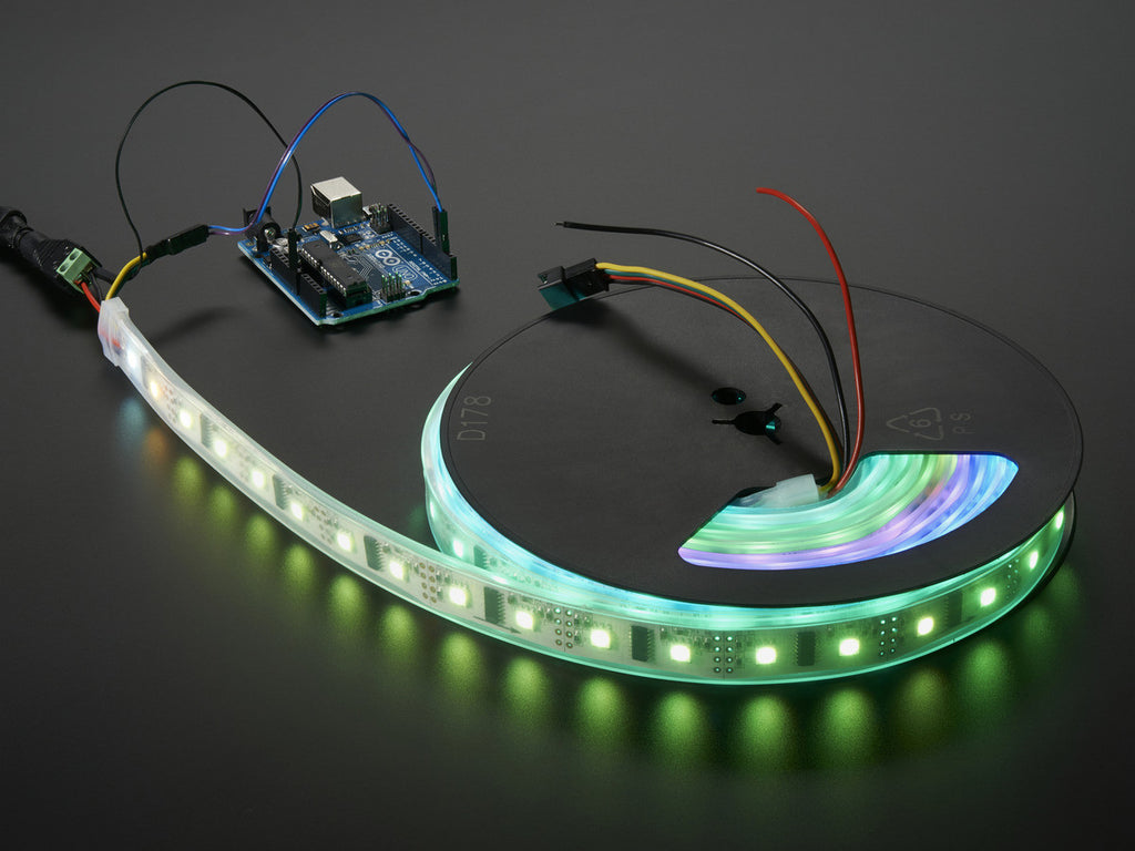 Digital RGB LED Weatherproof Strip - LPD8806 x 48 LED - 1 Meter - Buy - Pakronics®- STEM Educational kit supplier Australia- coding - robotics