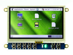 Buy Australia 4.3'' LCD Cape for BeagleBone Black ‐ Touch Display , BeagleBone - Seeed Studio, Pakronics Melbourne  in Australia - 2