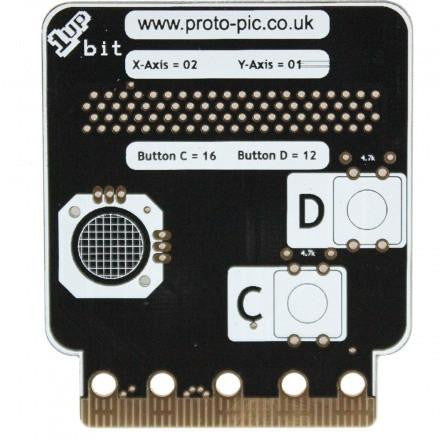 1up:bit controller kit for BBC micro:bit - PPMB00131 - Not soldered - Pakronics- Express Delivery Australia - DIY Electronics estore