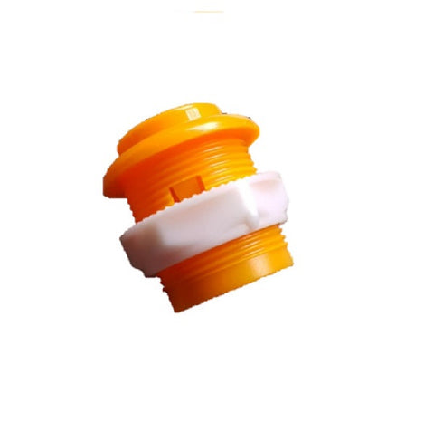 27.5mm Arcade Game Push Button - Orange - Buy - Pakronics®- STEM Educational kit supplier Australia- coding - robotics