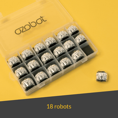 Ozobot Evo Classroom Kit, 18-pack (White) - Buy - Pakronics®- STEM Educational kit supplier Australia- coding - robotics