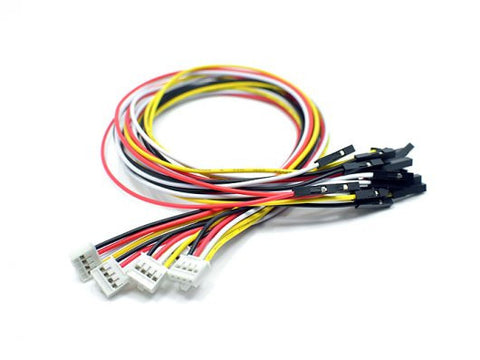 Buy Australia Grove - 4 pin Female Jumper to Grove 4 pin Conversion Cable (5 PCs per PAck) , Grove - Seeed Studio, Pakronics Melbourne  in Australia