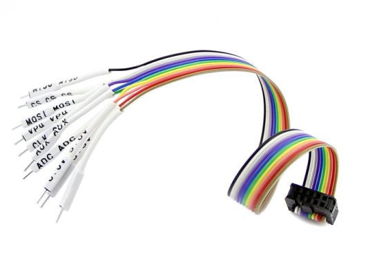 Buy Australia Bus Pirate v3 probe cable with labels and male pins , Probes - Seeed Studio, Pakronics Melbourne  in Australia - 1