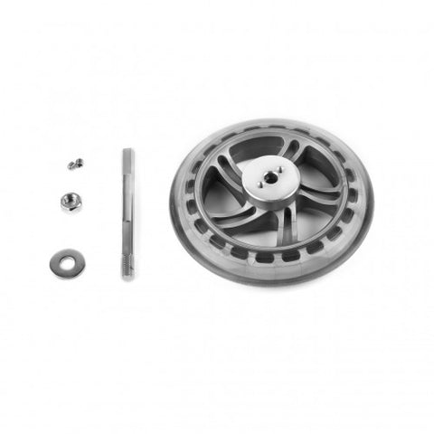 125mm PU wheel (driving wheel pack) - Buy - Pakronics®- STEM Educational kit supplier Australia- coding - robotics