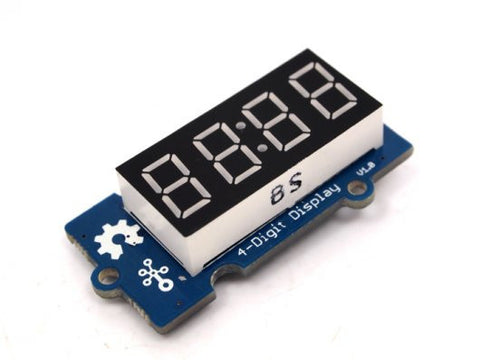 Buy Australia Grove - 4-Digit Display , LED Segment - Seeed Studio, Pakronics Melbourne  in Australia - 1