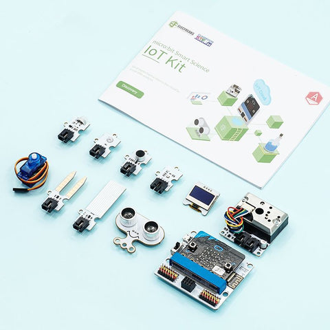 Elecfreaks - micro:bit Smart Science IoT Kit - Buy - Pakronics®- STEM Educational kit supplier Australia- coding - robotics