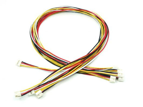 Grove - Universal 4 Pin Buckled 40cm Cable (5 PCs Pack) - Buy - Pakronics®- STEM Educational kit supplier Australia- coding - robotics