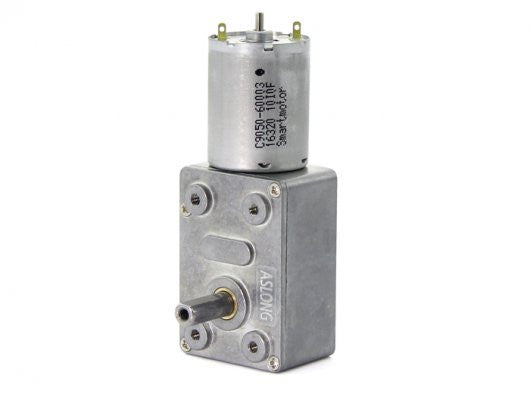 Buy Australia ASLONG JGY-370 12V DC Worm Gear Motor , Motors - Seeed Studio, Pakronics Melbourne  in Australia - 1