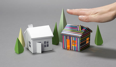 Buy Australia Glowing House Set Voltage Village , BC_Project - Bare Conductive, Pakronics Melbourne  in Australia - 1