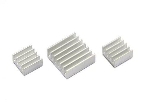 Aluminum Heatsink Kit for Raspberry Pi - Buy - Pakronics®- STEM Educational kit supplier Australia- coding - robotics