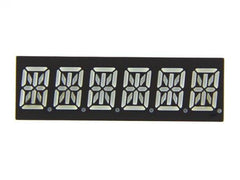 Buy Australia Six Alphanumeric 14 Segment LED - Red , LED Segment - Seeed Studio, Pakronics Melbourne  in Australia - 4