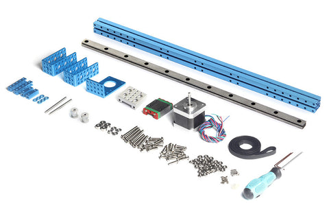 Buy Australia Linear Motion Guide Module Pack - Blue , MB_Robot Kits - MakeBlock, Pakronics Melbourne  in Australia - 1
