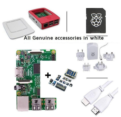 Pakronics Raspberry Pi 2 Model B Starter Kit With GrovePi+ plugable sensors kit discontinued (Replace with latest version) - Buy - Pakronics- Melbourne Sydney Queensland Perth  Australia - DIY Electronics estore