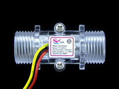 "G1/2"" Water Flow Sensor Enclosure - Buy - Pakronics®- STEM Educational kit supplier Australia- coding - robotics"