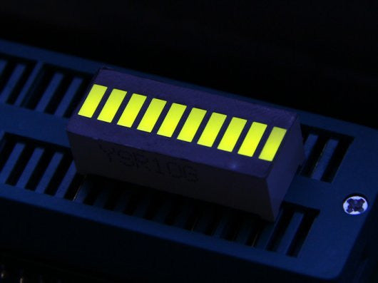 Buy Australia 10 Segment LED - Yellow Green , LED Segment - Seeed Studio, Pakronics Melbourne  in Australia - 1