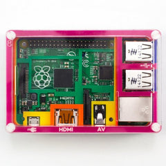 Buy Australia Pibow Rainbow Enclosure for Raspberry Pi Model B+ , Expansion - Seeed Studio, Pakronics Melbourne  in Australia - 3