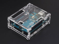 Buy Australia Arduino UNO R3 Acrylic Enclosure - Clear , Enclosures - Seeed Studio, Pakronics Melbourne  in Australia - 2