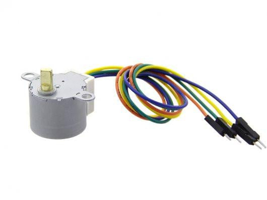 Buy Australia Small Size and High Torque Stepper Motor - 24BYJ48 , Motors - Seeed Studio, Pakronics Melbourne  in Australia - 1