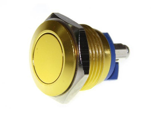 Buy Australia 16mm Anti-vandal Metal Push Button - Glory Gold , Buttons & Switches - Seeed Studio, Pakronics Melbourne  in Australia - 1