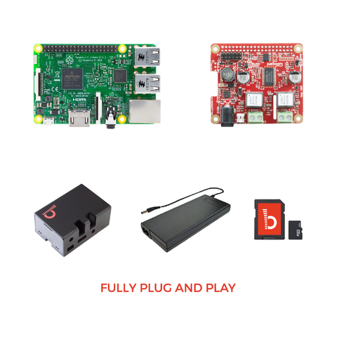 JustBoom Amp HAT Kit - Buy - Pakronics®- STEM Educational kit supplier Australia- coding - robotics
