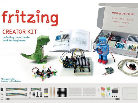 Buy Australia Fritzing Creator Kit without Arduino UNO English Edition , Arduino Starter - Seeed Studio, Pakronics Melbourne  in Australia - 1