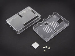 Raspberry Pi B+ Enclosure - Transparent - Buy - Pakronics®- STEM Educational kit supplier Australia- coding - robotics