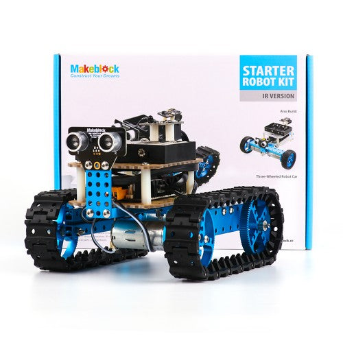 Starter Robot Kit-Blue (IR Version) - Buy - Pakronics®- STEM Educational kit supplier Australia- coding - robotics