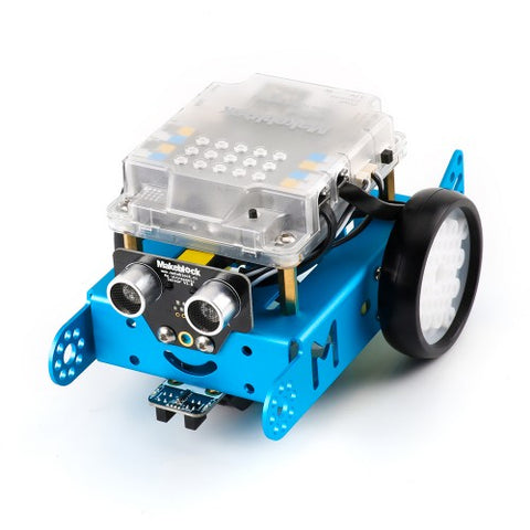 mBot V1.1 STEM Robot Kit - Bluetooth version. (Blue) - Buy - Pakronics®- STEM Educational kit supplier Australia- coding - robotics