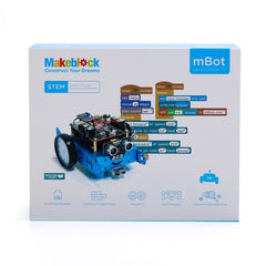 mBot V1.1 STEM Robot Kit - Bluetooth version. (Blue)