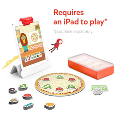 Osmo Pizza Co. Starter Kit for iPad for Ages 5-12 (Osmo Base included)
