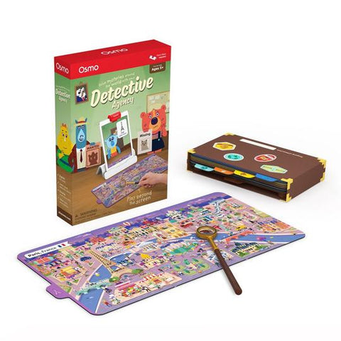 Osmo Detective Agency Game - Buy - Pakronics®- STEM Educational kit supplier Australia- coding - robotics