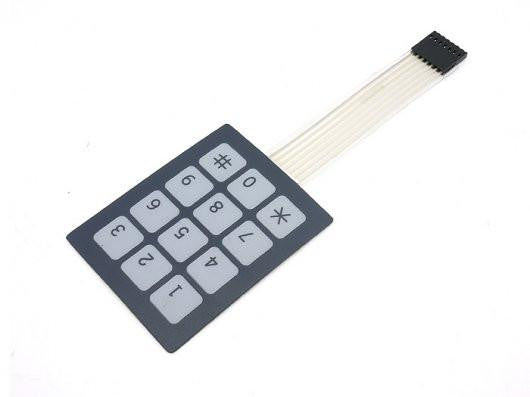 Buy Australia Sealed Membrane 3x4 button pad with sticker , Buttons & Switches - Seeed Studio, Pakronics Melbourne  in Australia