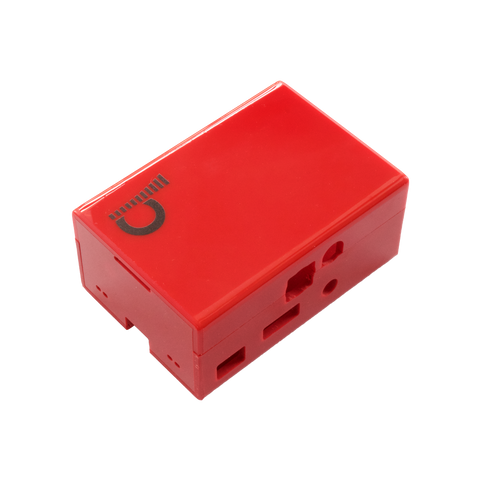 JustBoom DAC HAT Case - Red - Buy - Pakronics®- STEM Educational kit supplier Australia- coding - robotics