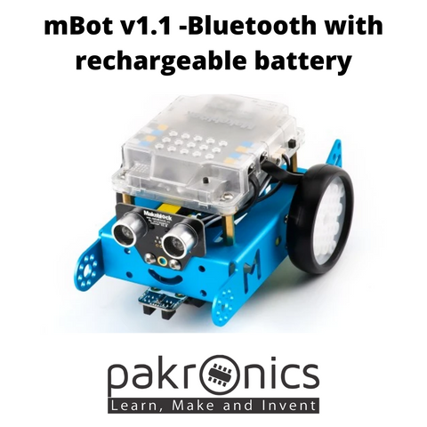 mBot v1.1 -Bluetooth with rechargeable battery