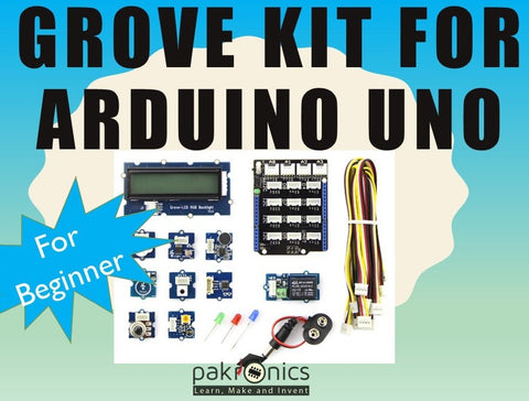 Grove starter kit for Arduino in classroom (e-course) - Buy - Pakronics®- STEM Educational kit supplier Australia- coding - robotics