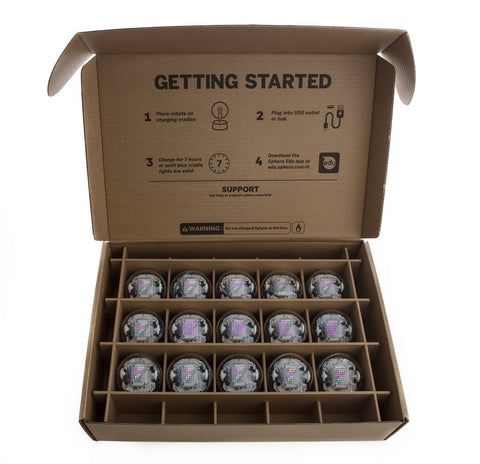 Sphero BOLT Education 15 Pack - Buy - Pakronics®- STEM Educational kit supplier Australia- coding - robotics