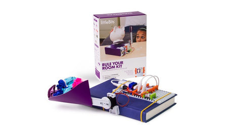 LittleBits Rule Your Room Kit - Beginner - Buy - Pakronics- Melbourne Sydney Queensland Perth  Australia - Educational kit - coding - robotics