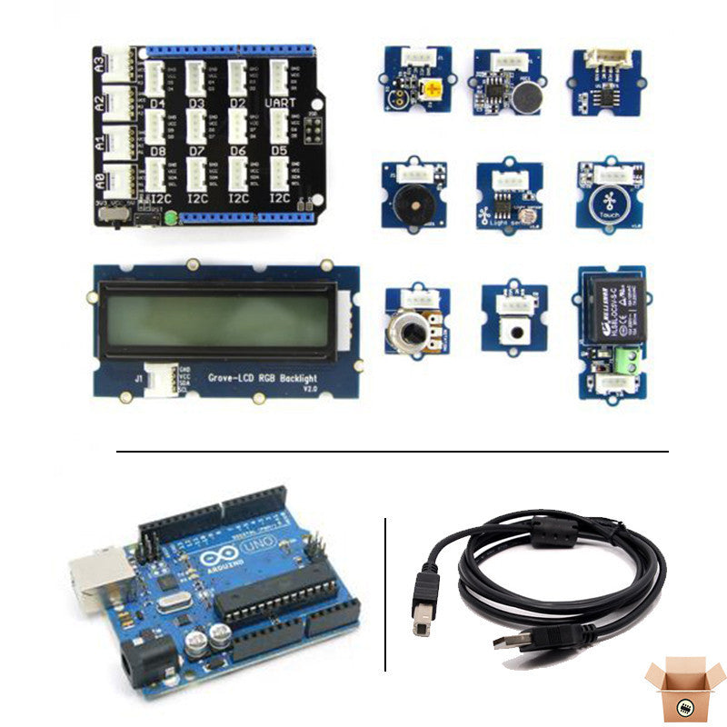 Buy - Grove - Starter Kit for Arduino (With Arduino UNO R3) - Pakronics- Australia - DIY Electronics estore