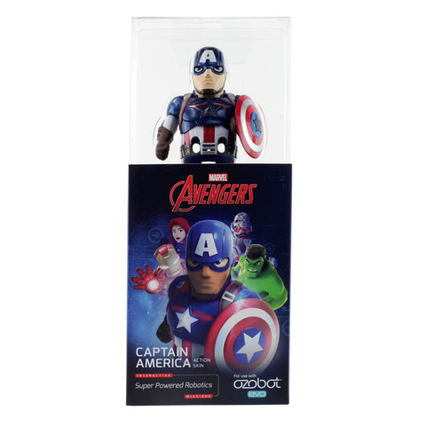 Ozobot Evo Action Skin - Captain America