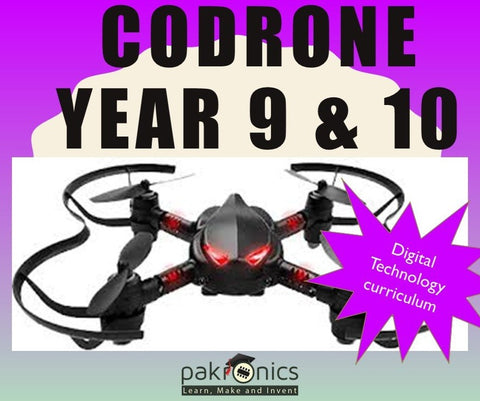 CoDrone Programming 101 for teacher (e-course) - Buy - Pakronics®- STEM Educational kit supplier Australia- coding - robotics