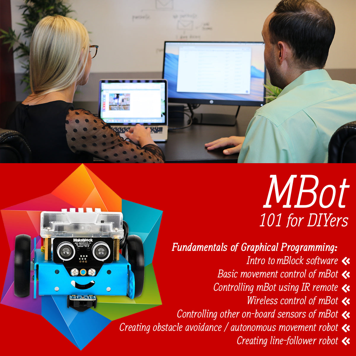 mBot online course 101 for DIYers