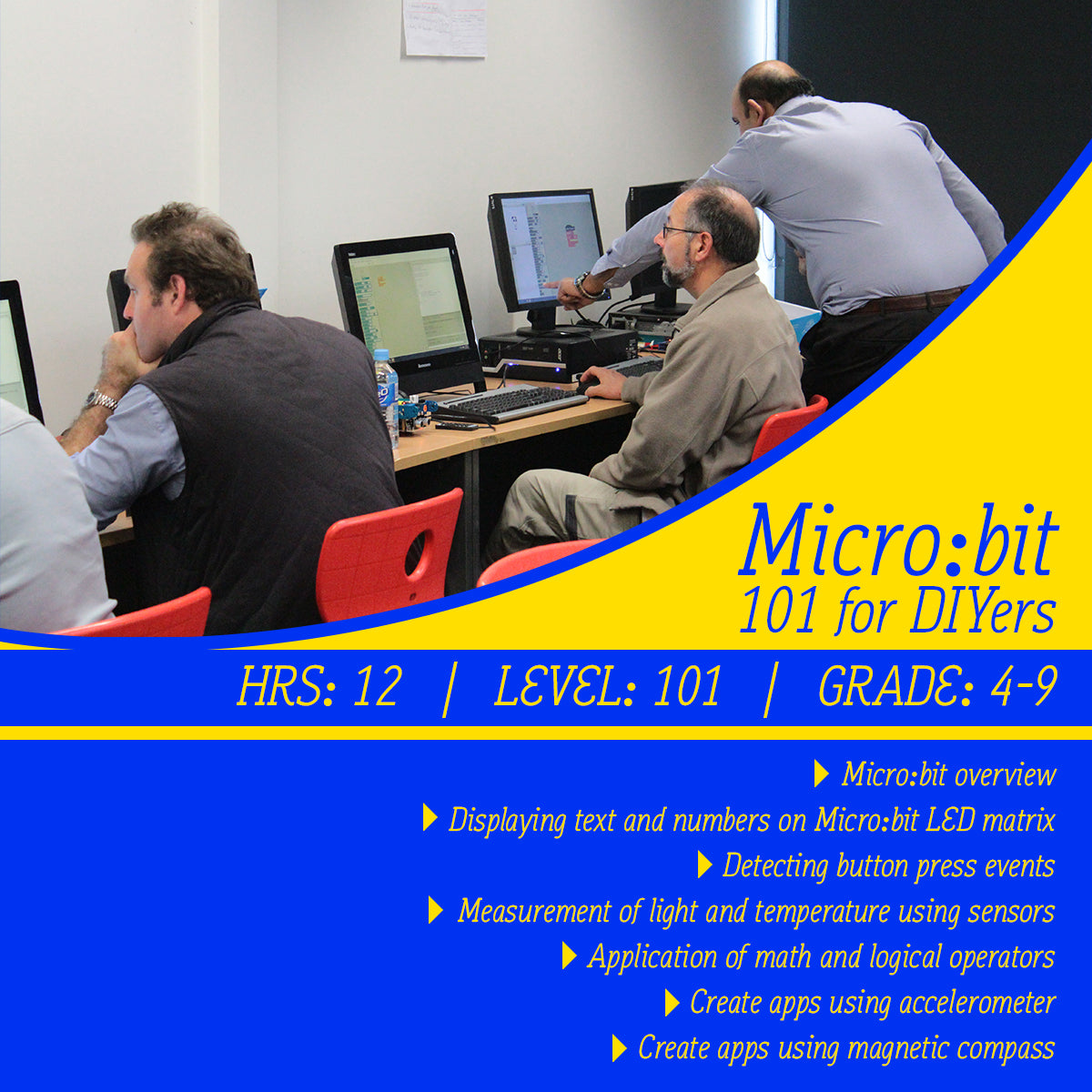 Micro:bit online course 101 for DIYers