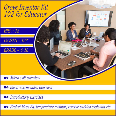 Micro:bit Grove Inventor online course 102 for educator (with curriculum mapped for Victoria)