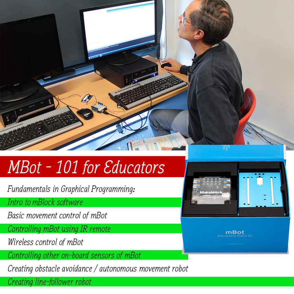mBot online course 101 for educators (with curriculum mapped for Victoria)