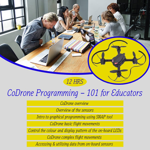 CoDrone Programming 101 with Curriculum mapped for Victoria